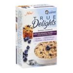 Quaker - Instant Oatmeal Blueberry Muffin 2 Boxes 8 Packets Ea 0030000210000  / UPC 030000210000