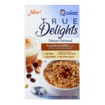 Quaker - Instant Oatmeal Hazelnut Latte 2 Boxes 8 Packets Ea 2 boxes,8 packets ea 0030000210017  / UPC 030000210017