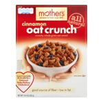 Quaker - Cinnamon Oat Crunch Cereal 0030000217399  / UPC 030000217399