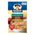 Quaker - Instant Oatmeal Bakery Favorites 0030000264423  / UPC 030000264423