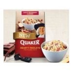 Quaker - Hearty Medley's Apple Cranberry Almond Instant Oatmeal 0030000311486  / UPC 030000311486