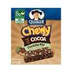 Quaker - Chewy Granola Bars Chocolatey Mint 0030000311790  / UPC 030000311790