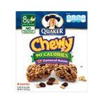 Quaker - Chewy Granola Bars Oatmeal Raisin 0030000311806  / UPC 030000311806