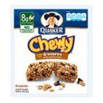 Quaker - Chewy S'mores Granola Bars 0030000311813  / UPC 030000311813