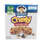 Quaker - Chewy Granola Bars Chocolate Chip 0030000311820  / UPC 030000311820
