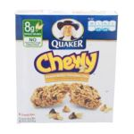 Quaker - Chewy Granola Bar Peanut Butter Chocolate Chip 0030000311844  / UPC 030000311844