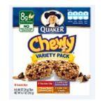 Quaker - Chewy Granola Bars Variety Pack 0030000311882  / UPC 030000311882