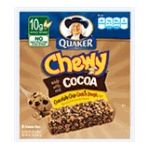 Quaker - Chewy Granola Bars Chocolate Chip Cookie Dough 0030000311929  / UPC 030000311929