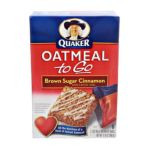 Quaker - Breakfast Bars Brown Sugar Cinnamon 0030000438305  / UPC 030000438305