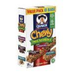 Quaker - Granola Bars 3 boxes,18 bars ea 0030000450130  / UPC 030000450130