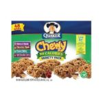 Quaker - Chewy 90 Calories Variety Pack 0030000450390  / UPC 030000450390