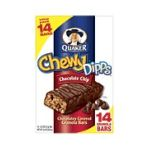 Quaker - Chewy Dipps Chocolate Chip Granola Bars 0030000450529  / UPC 030000450529