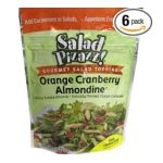 Good Sens Snacks -  Salad Pizazz! Orange Cranberry Almondine Gourmet Salad Topping 0030243692007