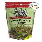 Good Sens Snacks -  Salad Pizazz! Cherry Cranberry Pecan Gourmet Salad Topping 0030243692038