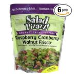 Good Sens Snacks -  Salad Pizazz! Raspberry Cranberry Walnut Frisco Gourmet Salad Topping 0030243692045