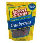 Good Sens Snacks -  Trail Mix Dried Sweetened Cranberries Bag 0030243862202