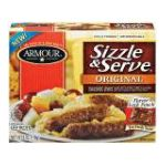 Armour - Sizzle And Serve Links Original Sausage 0030900825601  / UPC 030900825601
