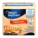 Weight Watchers -  Cheese Pepper Jack Singles 12 0030900933009