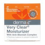 Derma e -  Very Clear Problem Skin Moisturizer 0030985039009