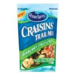 Ocean Spray - Craisins Trail Mix 0031200001795  / UPC 031200001795