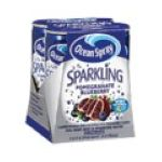 Ocean Spray - Sparkling Pomegranate Blueberry Flavored Beverage 0031200003515  / UPC 031200003515