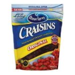 Ocean Spray - Craisins Bag 0031200006783  / UPC 031200006783