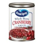 Ocean Spray - Whole Berry Cranberry Sauce 0031200016034  / UPC 031200016034