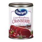Ocean Spray - Cranberry Sauce Cran-raspberry 0031200016041  / UPC 031200016041