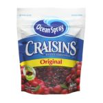 Ocean Spray - Craisins 0031200294654  / UPC 031200294654
