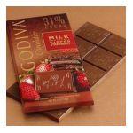 Godiva -  Chocolatier Milk Chocolate Dipped Strawberry 31% Cacao 0031290042371