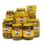 B&G Foods brands  - B&g Kosher Dill Baby Gherkins Pickles 0031500001105  / UPC 031500001105