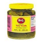 B&G Foods brands  - Tiny Treats Sweet Gherkins 10 0031500001501  / UPC 031500001501