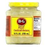 B&G Foods brands  - Cocktail Onions 0031500001570  / UPC 031500001570