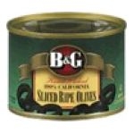 B&G Foods brands  - Ripe Olives Large Pitted 0031500002393  / UPC 031500002393
