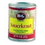 B&G Foods brands  - B&g Sauerkraut 0031500008517  / UPC 031500008517