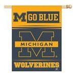 Wincraft -  Wincraft Michigan Wolverines 27x37 Vertical Flag 0032085085832