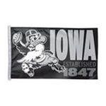 Wincraft -  IOWA HAWKEYES OFFICIAL LOGO 3X5 BANNER FLAG 0032085264305