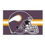 Wincraft -  NFL 5 Flag - Minnesota Vikings 0032085412126