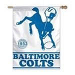 Wincraft -  BALTIMORE COLTS OFFICIAL 27X37 NFL BANNER FLAG 0032085483676
