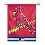 Wincraft -  ST. LOUIS CARDINALS OFFICIAL 27X37 MLB BANNER FLAG 0032085496980