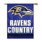 Wincraft -  BALTIMORE RAVENS OFFICIAL 27X37 NFL BANNER FLAG 0032085719522