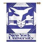 Wincraft -  Wincraft New York University Violets 27x37 Vertical Flag 0032085726469