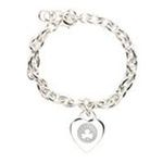Wincraft -  Wincraft Boston Celtics Heart Charm Bracelet 0032085754363