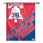 Wincraft -  Wincraft Philadelphia 76ers Hardwood Classics 27x37 Vertical Flag 0032085774446