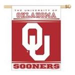 Wincraft -  Wincraft Oklahoma Sooners 27x37 Vertical Flag 0032085862082
