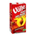 Del Valle -   None Peach From Concentrate Juice Nectar 0032239058545 UPC 03223905854