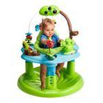 Evenflo -  Evenflo | Evenflo Jump and Learn Developmental Activity Center, Frog 0032884167647