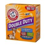 Arm & Hammer -  Double Duty Advanced Odor Control Clumping Cat Litter 20 lb 0033200022084