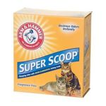 Arm & Hammer - Super Scoop Unscented Clumping Cat Litter With Baking Soda 28 lb 0033200022817  / UPC 033200022817