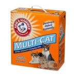 Arm & Hammer - Cat Litter Multi-cat Unscented 28 lb 0033200022879  / UPC 033200022879